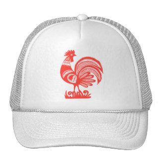 1950s Rooster Trucker Hat