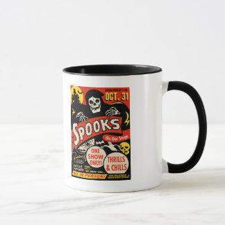 1950s Spook Show Poster Art Mug