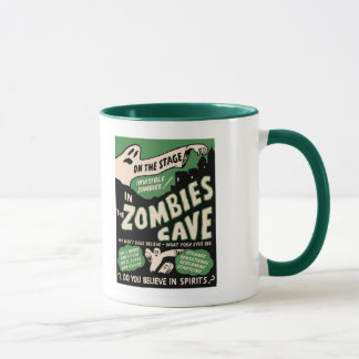 1950s Spook Show Poster Art - Zombies Mug