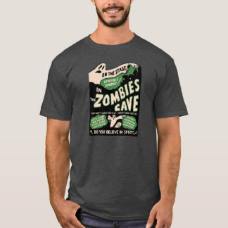 1950s Spook Show Poster Art - Zombies T-Shirt