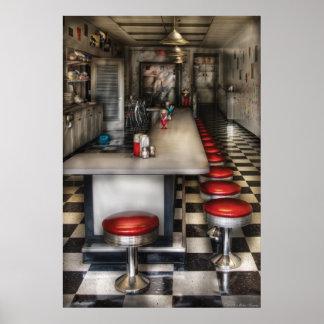 1950's - The Ice Cream Parlor Print
