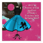 1950's Theme Birthday Party Personalized Invite