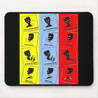 1950s three aces for Ace combs Mouse Pad