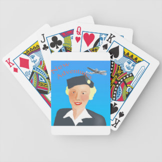 1950's Vintage Stewardess Playing Cards