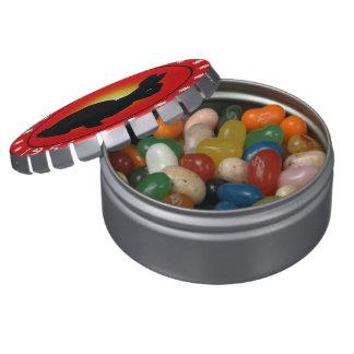 1951 años del conejo latas de caramelos