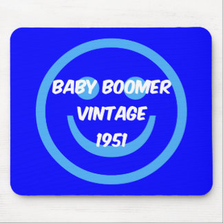 1951 baby boomer mouse pad