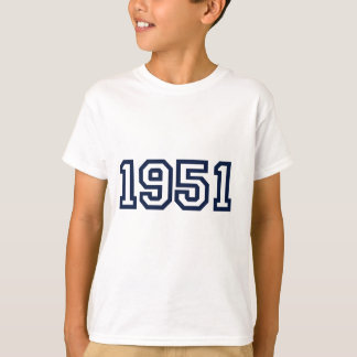 1951 birth year Tshirt