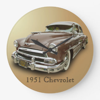 1951 CHEVROLET LARGE CLOCK