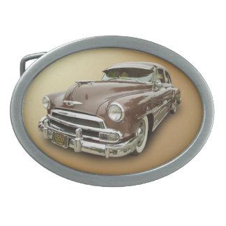1951 CHEVROLET OVAL BELT BUCKLE