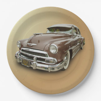 1951 CHEVROLET 9 INCH PAPER PLATE