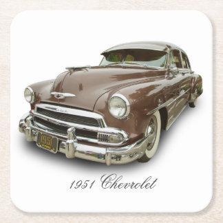 1951 CHEVROLET SQUARE PAPER COASTER