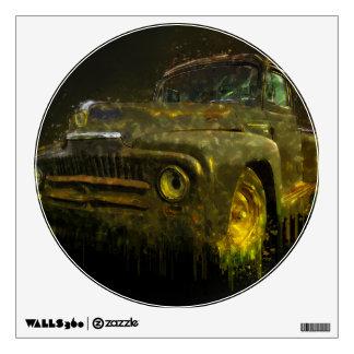 1951 Classic International Pickup Wall Sticker