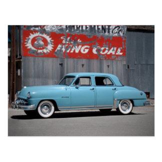 1951 DeSoto Custom Classic Car Postcard