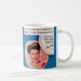 1951 Esther Williams make-up ad Coffee Mug