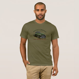 1951 General Motors GMC 100 Truck. Old Steel Rules T-Shirt