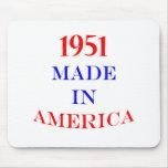 1951 hizo en América Alfombrillas De Ratones