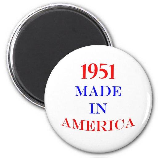 1951 hizo en América Imán Para Frigorifico