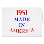 1951 hizo en América Tarjeton
