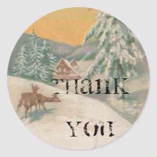 1951 Thank You Stickers