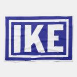 1952 azul Ike Toallas