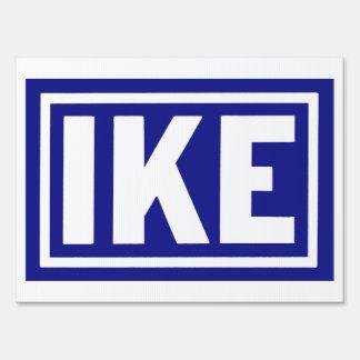 1952 Blue Ike Lawn Signs