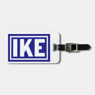 1952 Blue Ike Bag Tag