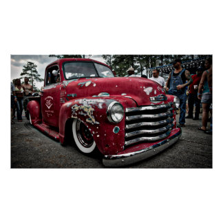 1952 Chevy Pickup Poster
