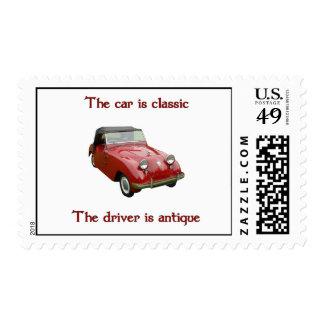 1952 Crosley Hot Shot Postage Stamps