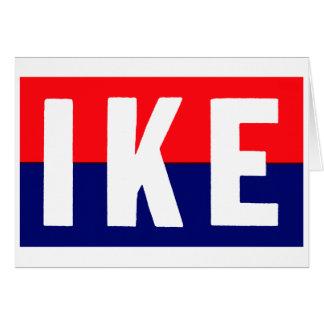 1952 Ike for President Card