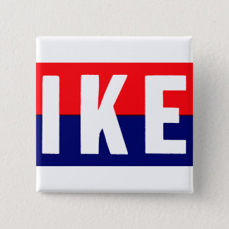 1952 Ike for President Pinback Button