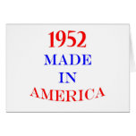 1952 Made in America Cards