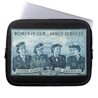 1952 mujeres en fuerzas armadas de los E.E.U.U. Fundas Computadoras