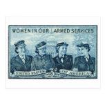 1952 mujeres en sello de las fuerzas armadas de lo postal