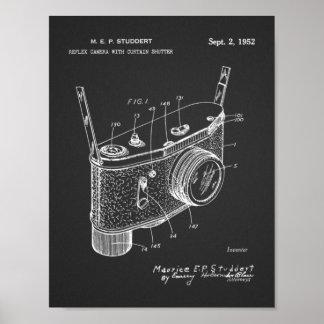 1952 Reflex Camera Patent Art Drawing Print