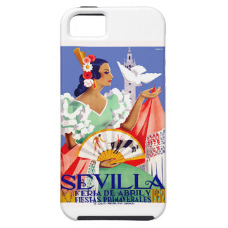 1952 Seville Spain April Fair Poster iPhone SE/5/5s Case
