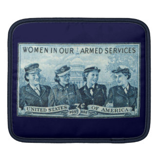 1952 Women in US Armed Services iPad Sleeves