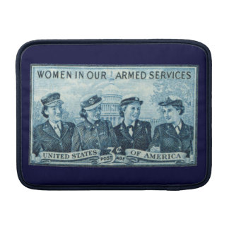 1952 Women in US Armed Services MacBook Sleeve