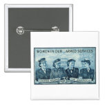 1952 Women in US Armed Services Stamp Buttons