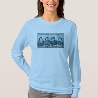 1952 Women in US Armed Services Stamp T-Shirt