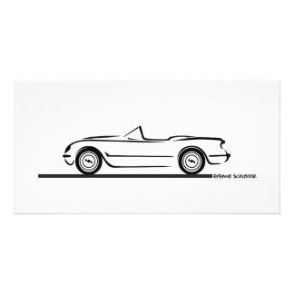 1953 1954 1955 Corvette Photo Card