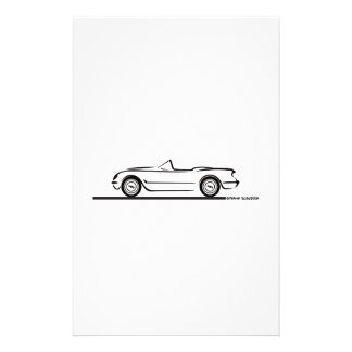 1953 1954 1955 Corvettes Papeleria De Diseño