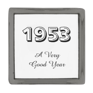 1953 A Very Good Year Lapel Pin
