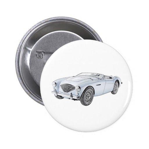 1953 Austin-Healey 100 Button