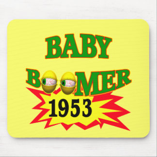1953 Baby Boomer Mouse Pad