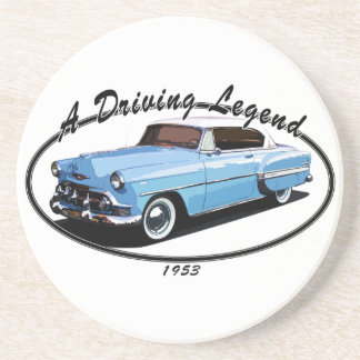 1953 Bel Air T Shirt Coaster