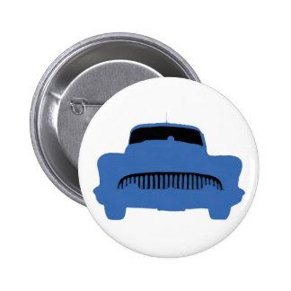1953 Buick Pop Art Blue Pinback Button