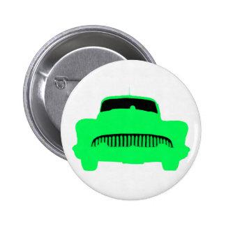 1953 Buick Pop Art Car Green Button