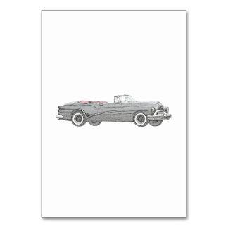 1953 Buick Skylark Convertible Coupe - Black Card