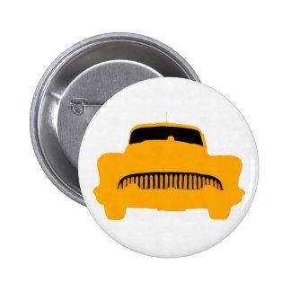 1953 Buick Square Orange Button