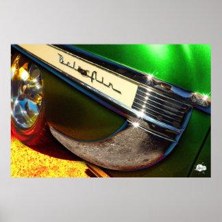 1953 Chevrolet Bel Air Fender Poster